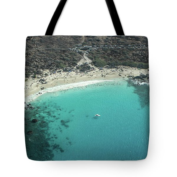 Kua Bay Aerial Tote Bag