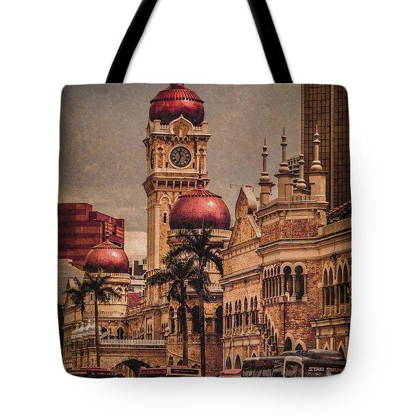 Kuala Lumpur, Malaysia - Red Onion Domes Tote Bag