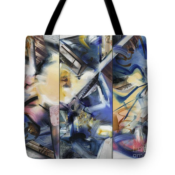 Kuan Answers According To A. W. Watts Tote Bag