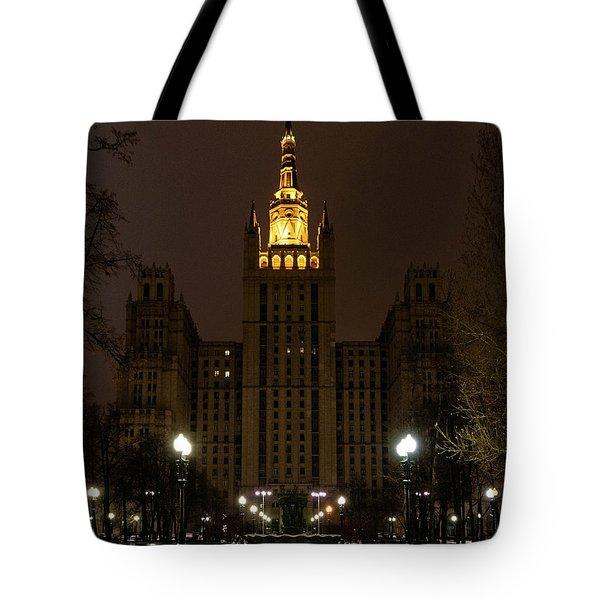 Kudrinskaya Square Tote Bag
