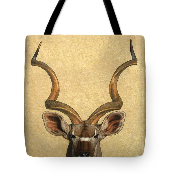Kudu Tote Bag by James W Johnson