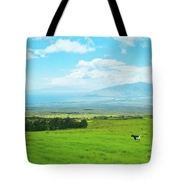 Kula Upcountry Maui Hawaii Tote Bag by Sharon Mau