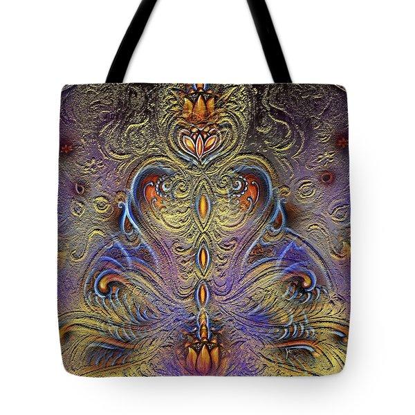 Kundalini  Tote Bag by Harsh Malik