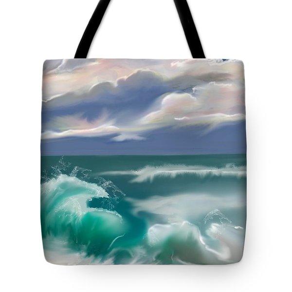 Kure Beach Tote Bag