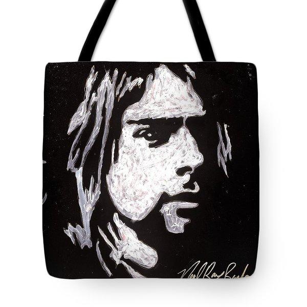 Kurt Kobain Tote Bag