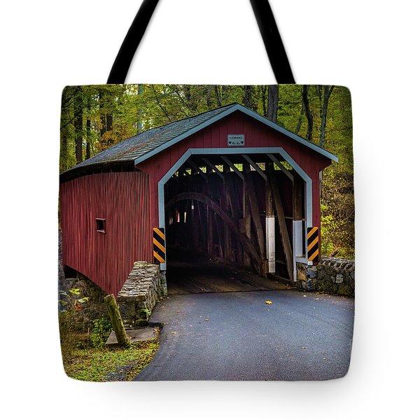 Kurtz Mill Covered Bridge Tote Bag