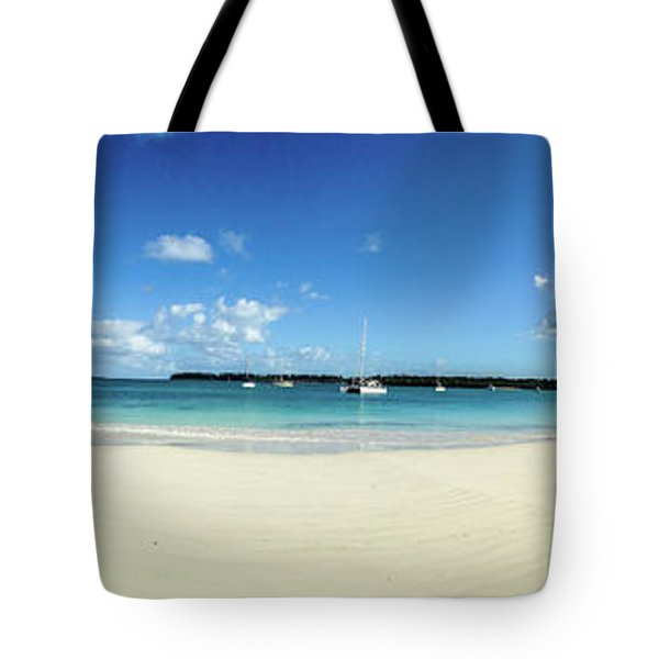 Kuto Bay Morning Pano Tote Bag