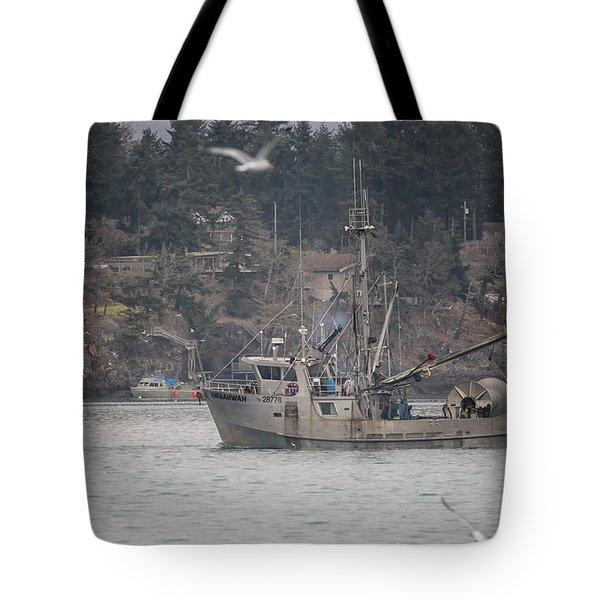 Kwiaahwah Tote Bag by Randy Hall