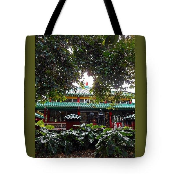 Kwon Yin Temple 4 Tote Bag
