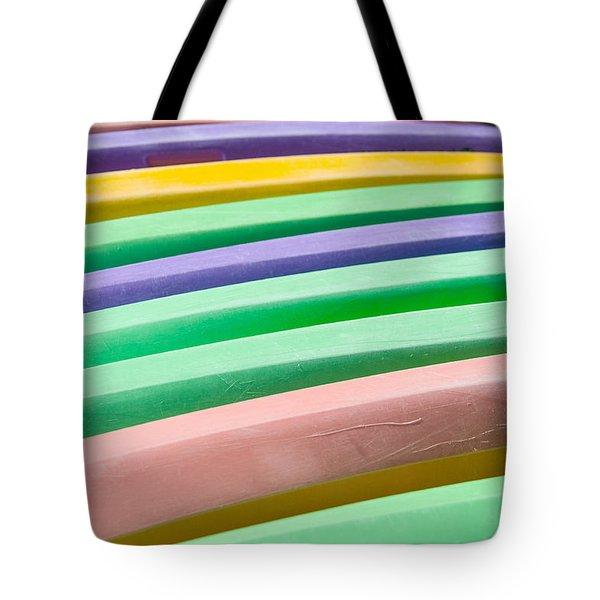 Kyak Rainbow Tote Bag