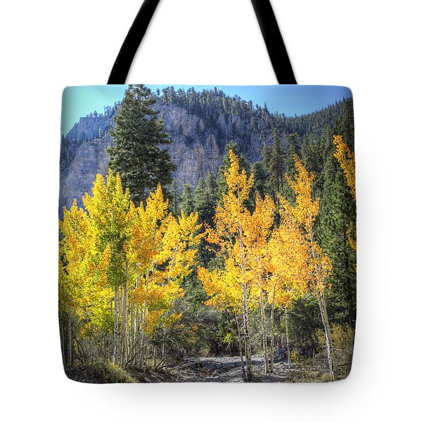 Kyle Canyon Aspen Tote Bag