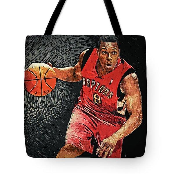 Kyle Lowry Tote Bag