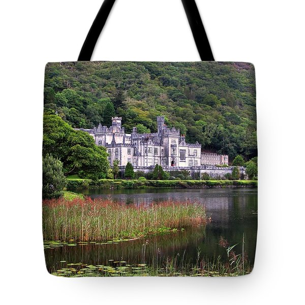Kylemore Abbey, County Galway, Tote Bag