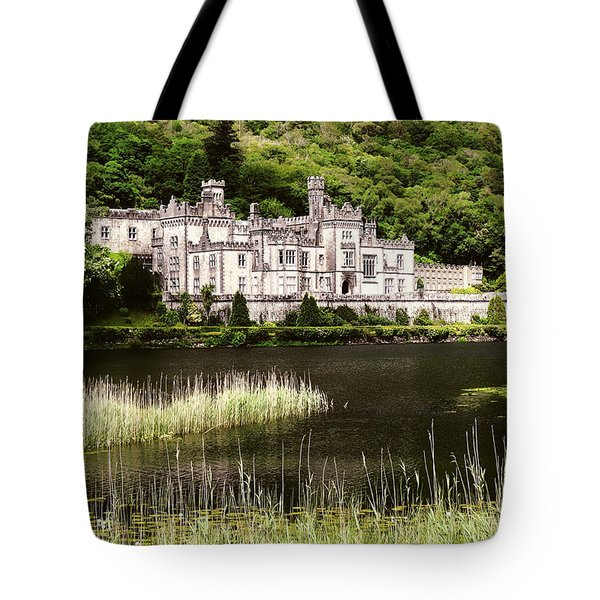 Kylemore Abbey Victorian Ireland Tote Bag
