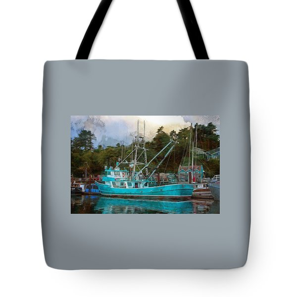 Tote Bag featuring the photograph Kylie Lynn by Thom Zehrfeld
