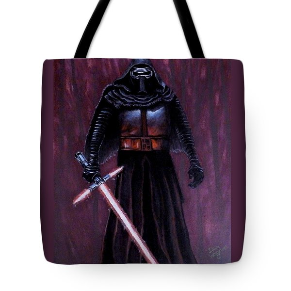 Kylo In Red Tote Bag