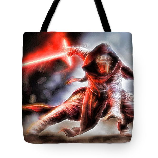 Kylo Ren I Will Fulfill Our Destiny Tote Bag