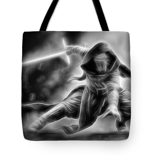 Kylo Ren Nothing Will Stand In Our Way Tote Bag
