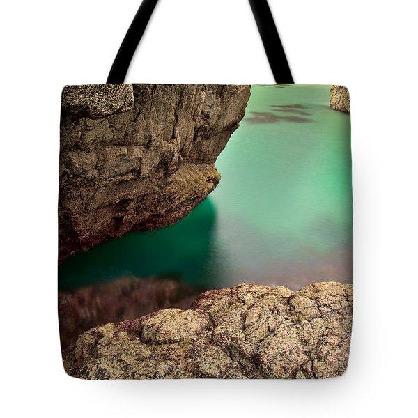 Kynance Cove Cornwall Tote Bag