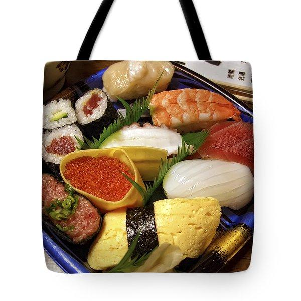 Kyoto Japan Economy Sushi Plate Tote Bag