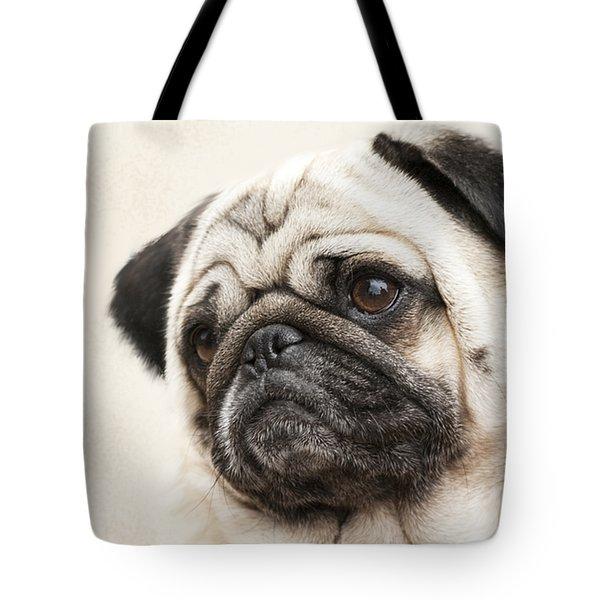 L-o-l-a Lola The Pug Tote Bag