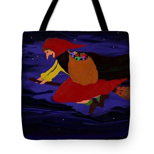 La Befana Tote Bag by Roxy Riou
