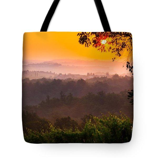 La Bella Toscana Tote Bag by Inge Johnsson