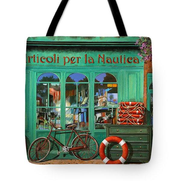 La Bicicletta Rossa Tote Bag