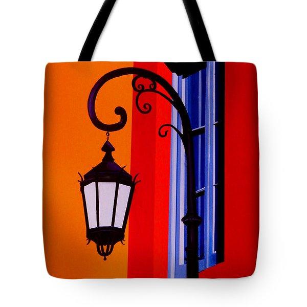 La Boca Cityscape #39 Tote Bag