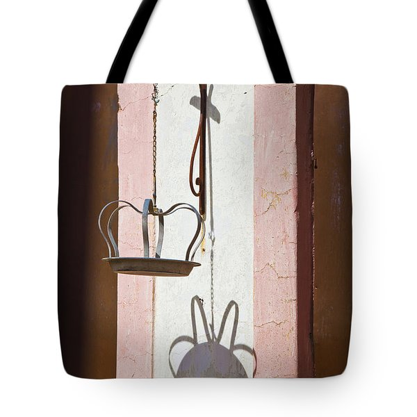 Tote Bag featuring the photograph The Crown by Chris Dutton