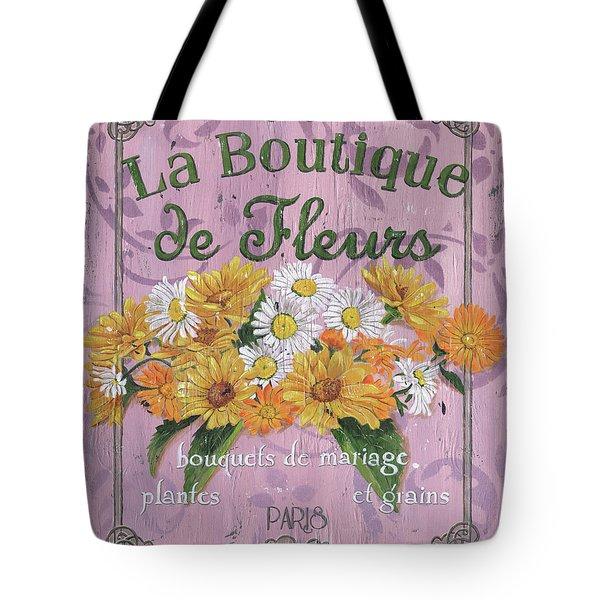 La Botanique 1 Tote Bag