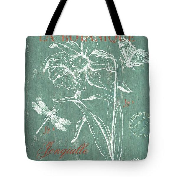 La Botanique Aqua Tote Bag