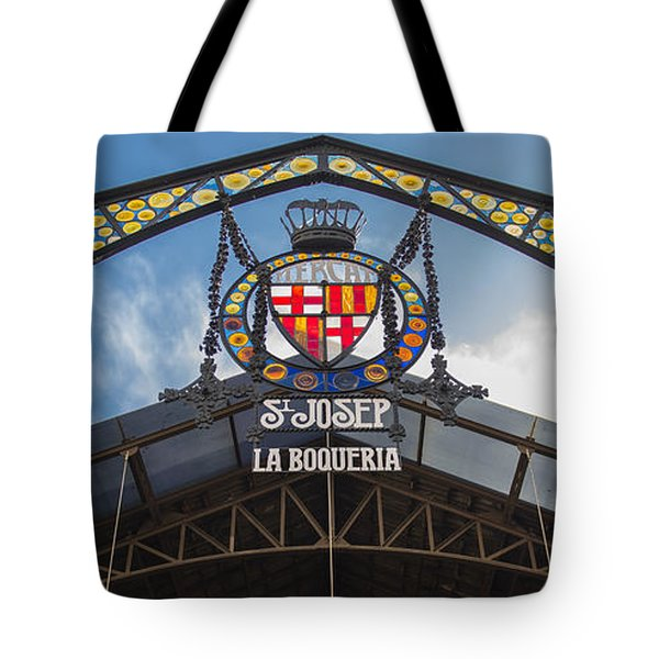 La Bouqueria Market - Barcelona Spain Tote Bag