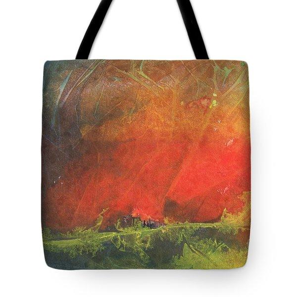 La Caleta Del Diablo Tote Bag by Jackie Mueller-Jones