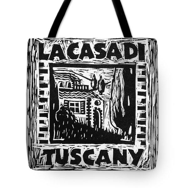 La Casa Di Tuscany Tote Bag