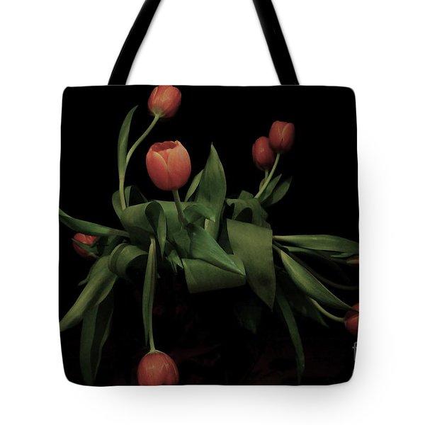 Tote Bag featuring the photograph La Chanson Des Vieux Amants by Danica Radman