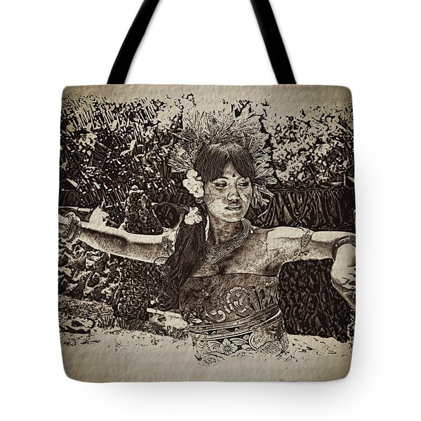Dance,indonesian Women Tote Bag