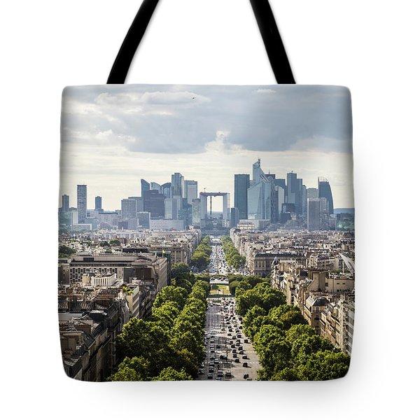 La Defense Paris Tote Bag