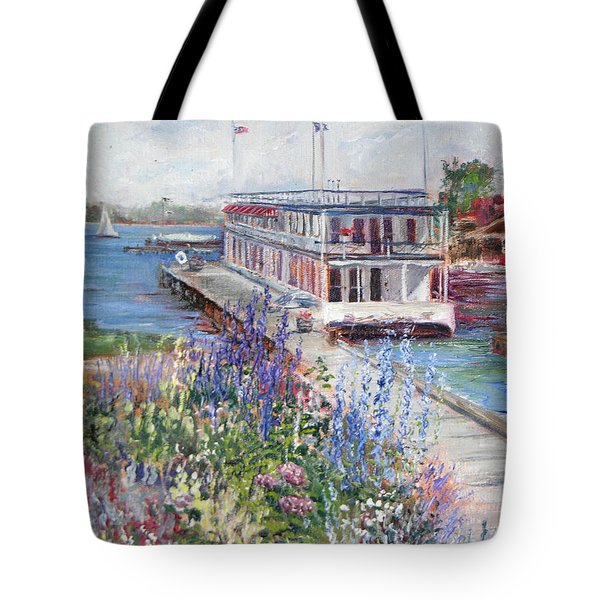 Tote Bag featuring the painting La Duchesse by Jan Byington