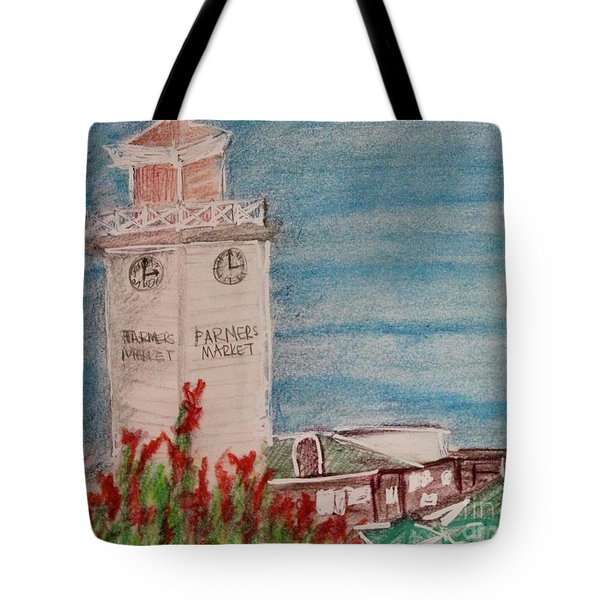 La Farmer's Market Tote Bag