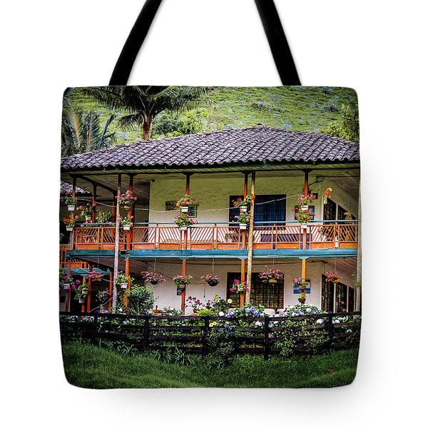 La Finca De Cafe - The Coffee Farm Tote Bag