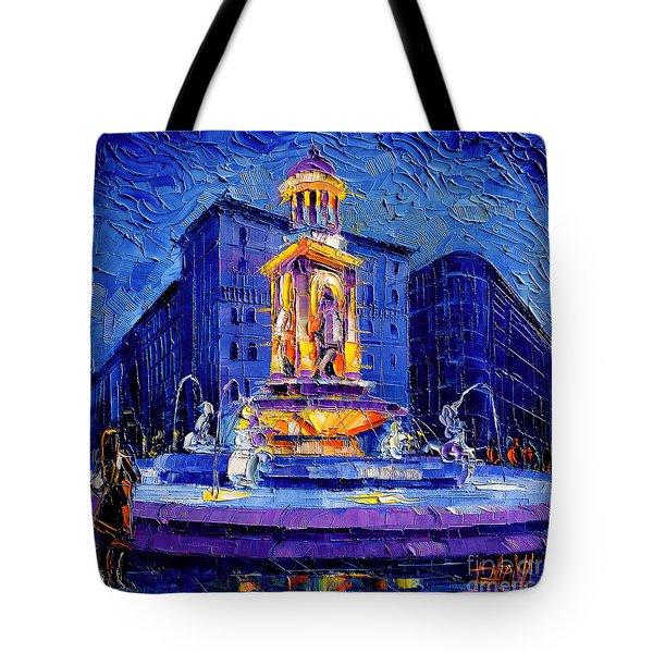 La Fontaine Des Jacobins Tote Bag