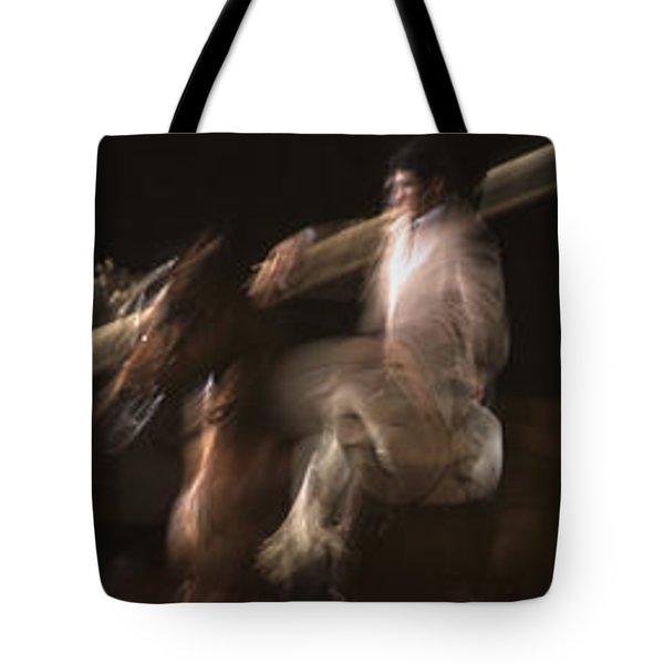 La Garrocha Tote Bag by Michael Mogensen