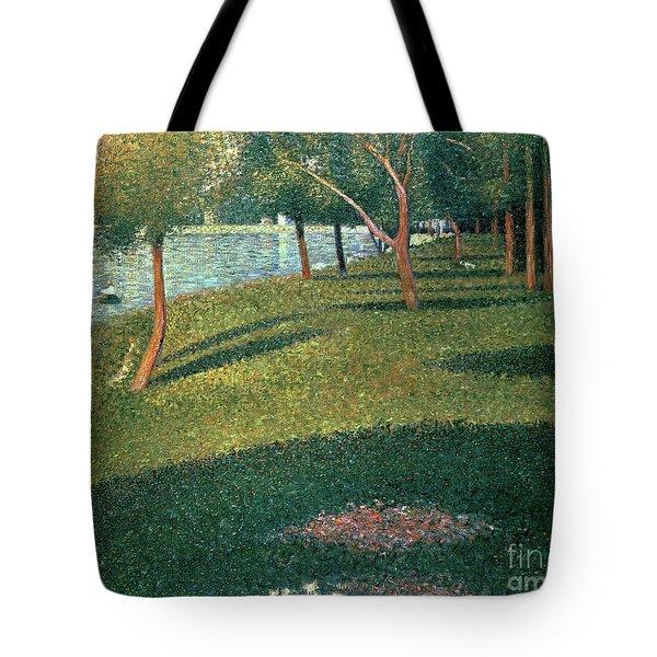 La Grande Jatte Tote Bag by Georges Pierre Seurat