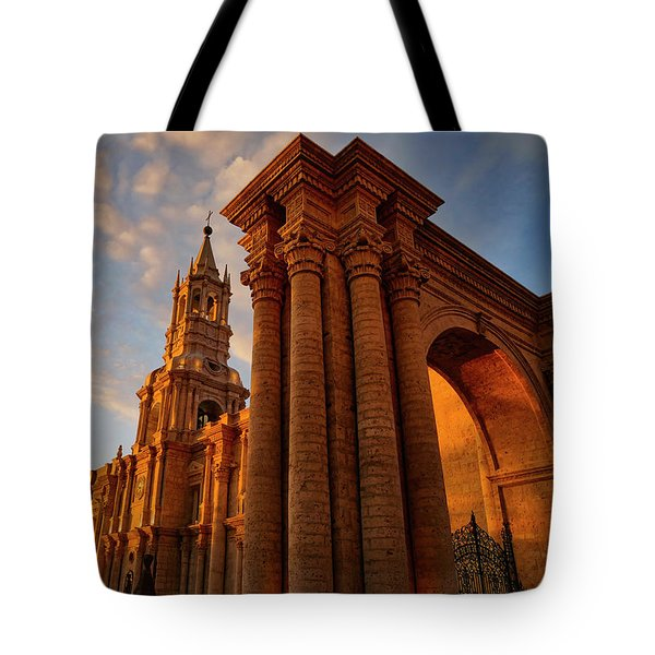 Tote Bag featuring the photograph La Hora Magia by Skip Hunt