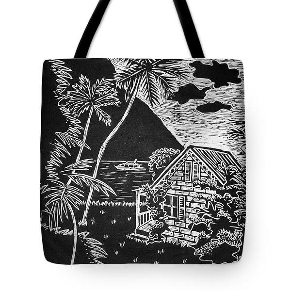 La Isla Santa Lucia Tote Bag