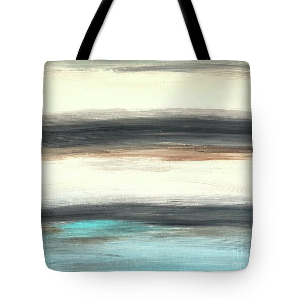 La Jolla #2 Seascape Landscape Original Fine Art Acrylic On Canvas Tote Bag