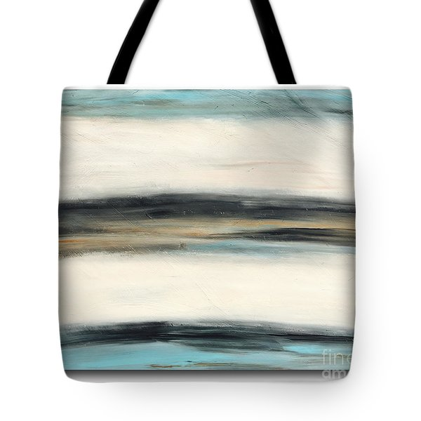 La Jolla #3 Seascape Landscape Original Fine Art Acrylic On Canvas Tote Bag