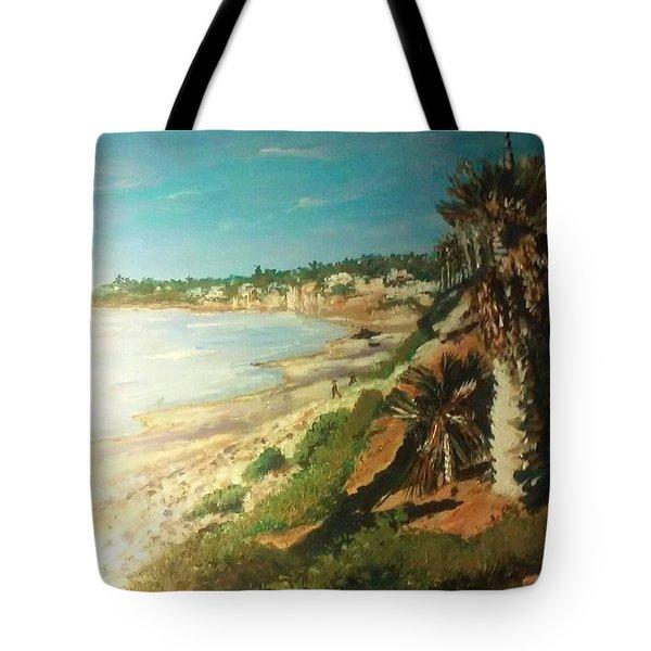 La Jolla Beach Tote Bag