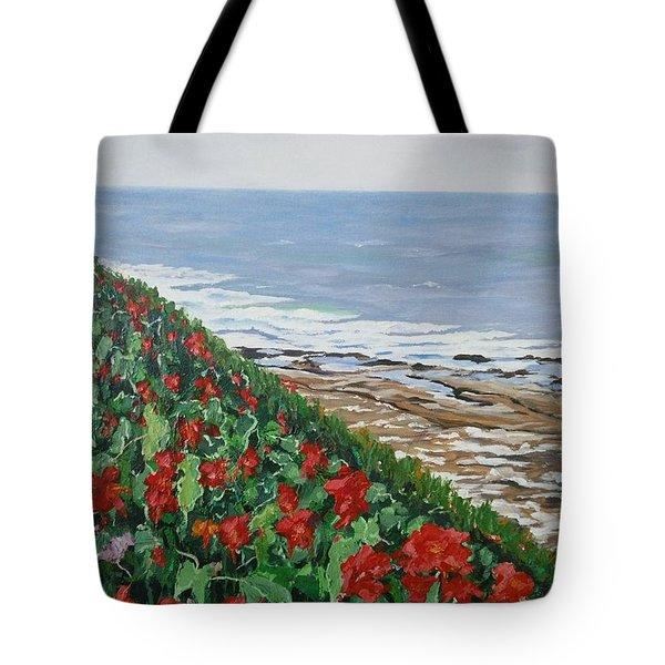 La Jolla Beach, San Diego Tote Bag